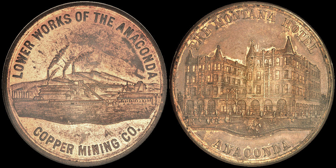 Lower Works Of The Anaconda Montana Hotel Copper Medal
