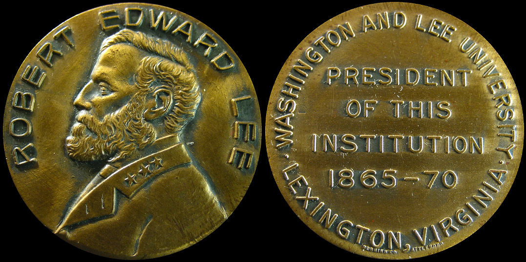 Robert Edward Lee President of Washington and Lee University Medal